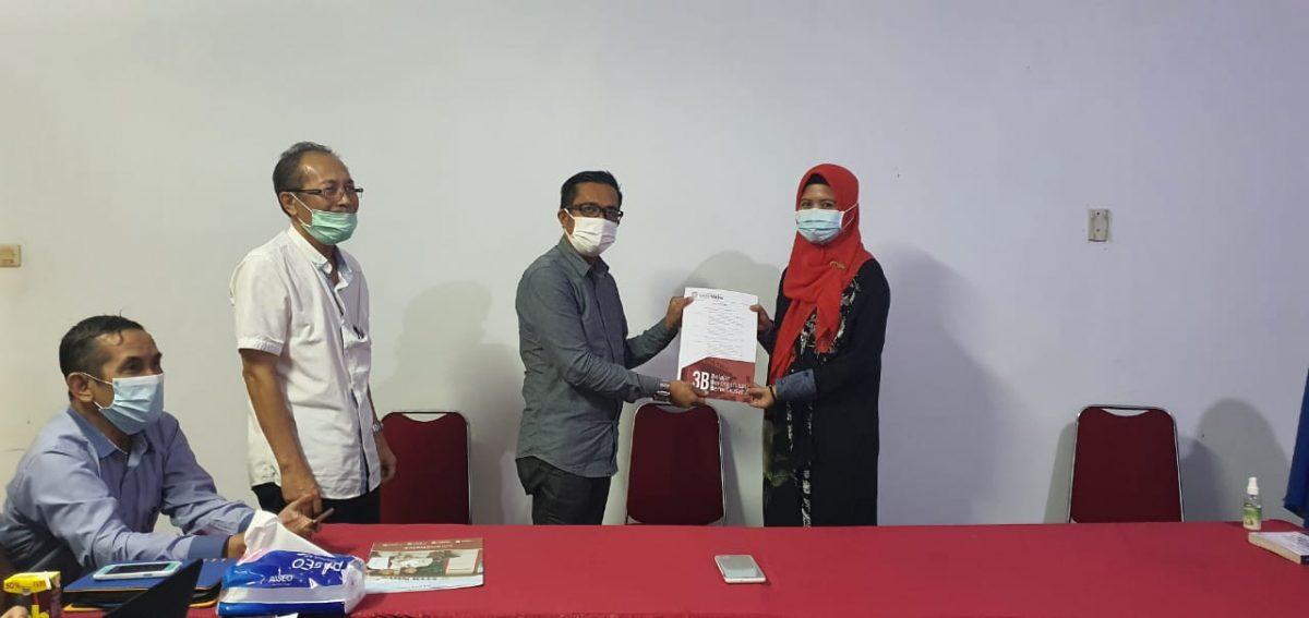 Rektor IBK Nitro Melantik Dekan Fakultas Bisnis dan Keuangan IBK Nitro