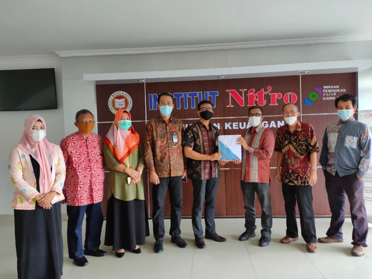 Kunjungan Pimpinan Garuda Indonesia Cabang Makassar ke Kampus IBK Nitro
