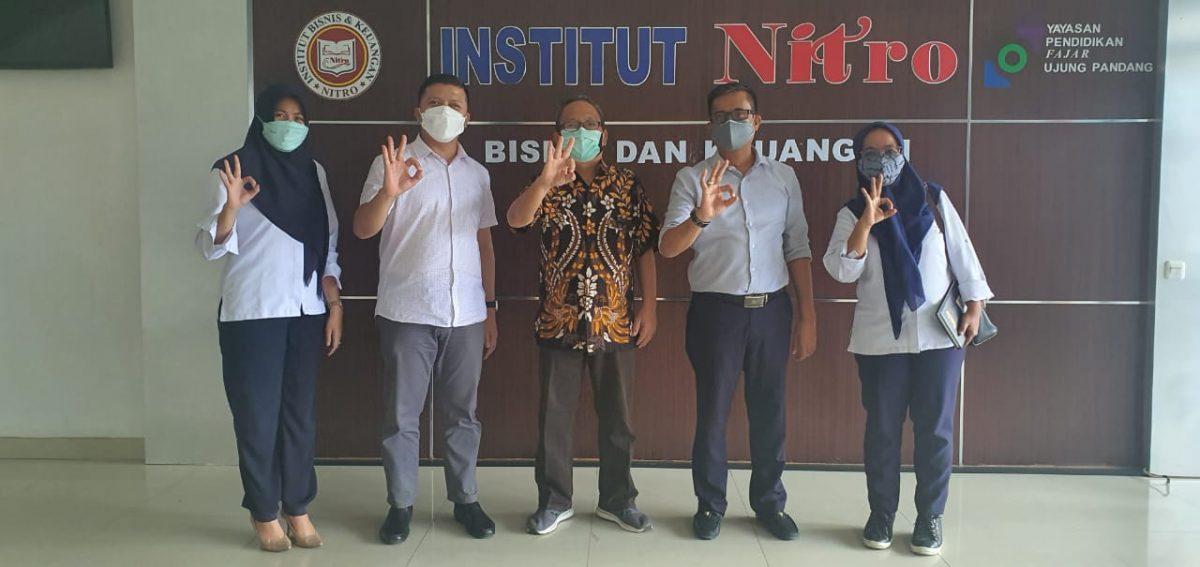 PT PKSS Kunjungi IBK Nitro, Kerjasama Penyaluran Alumni untuk Bekerja di BRI
