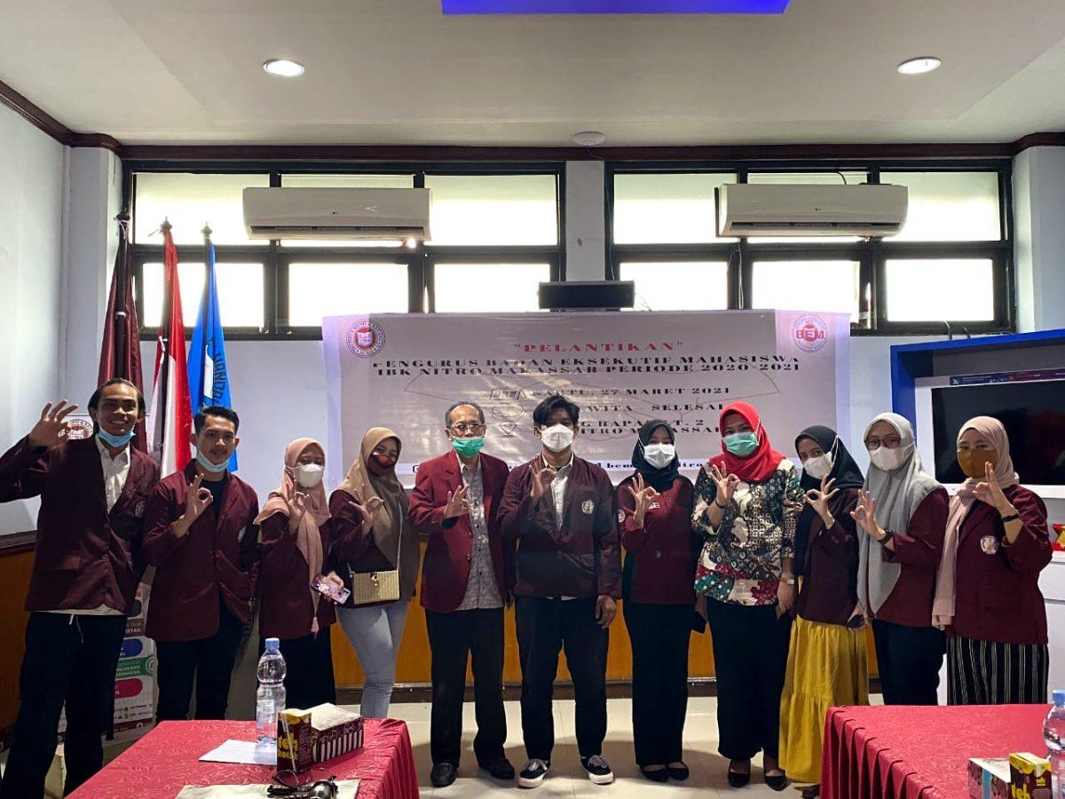 Pelantikan BEM IBK Nitro Periode 2021/2022