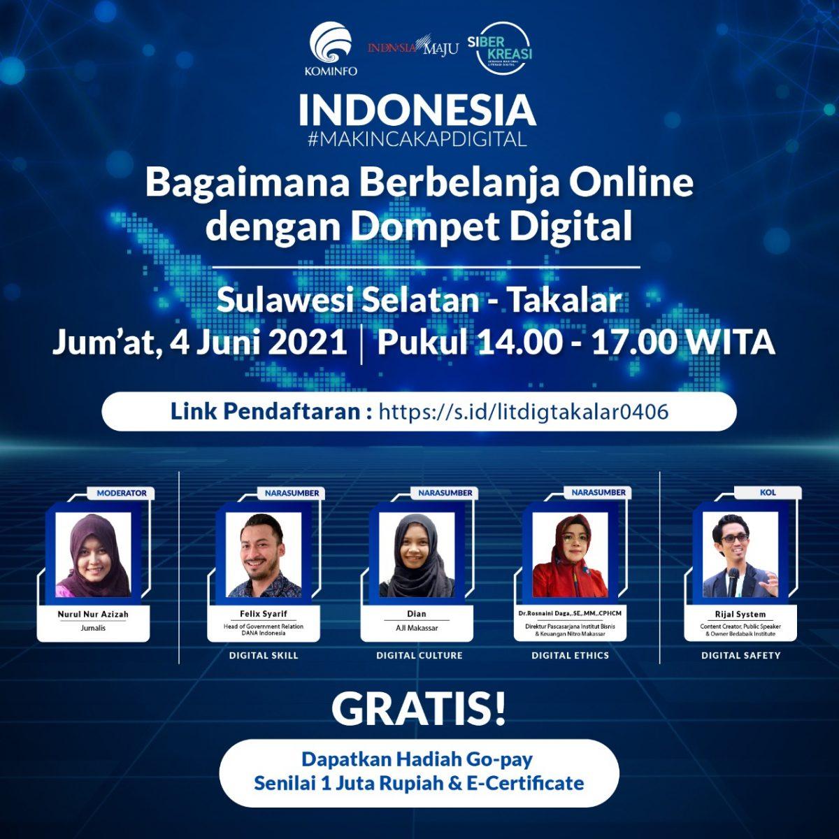 Indonesia Makin Cakap Digital, Direktur Pascasarjana Ngobrol Tentang Digital Ethics