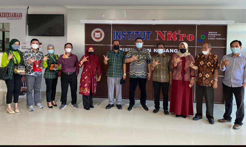 PT Pegadaian (Persero) Kantor Wilayah VI Makassar dan IBK Nitro Perkuat Jalinan Kerjasama