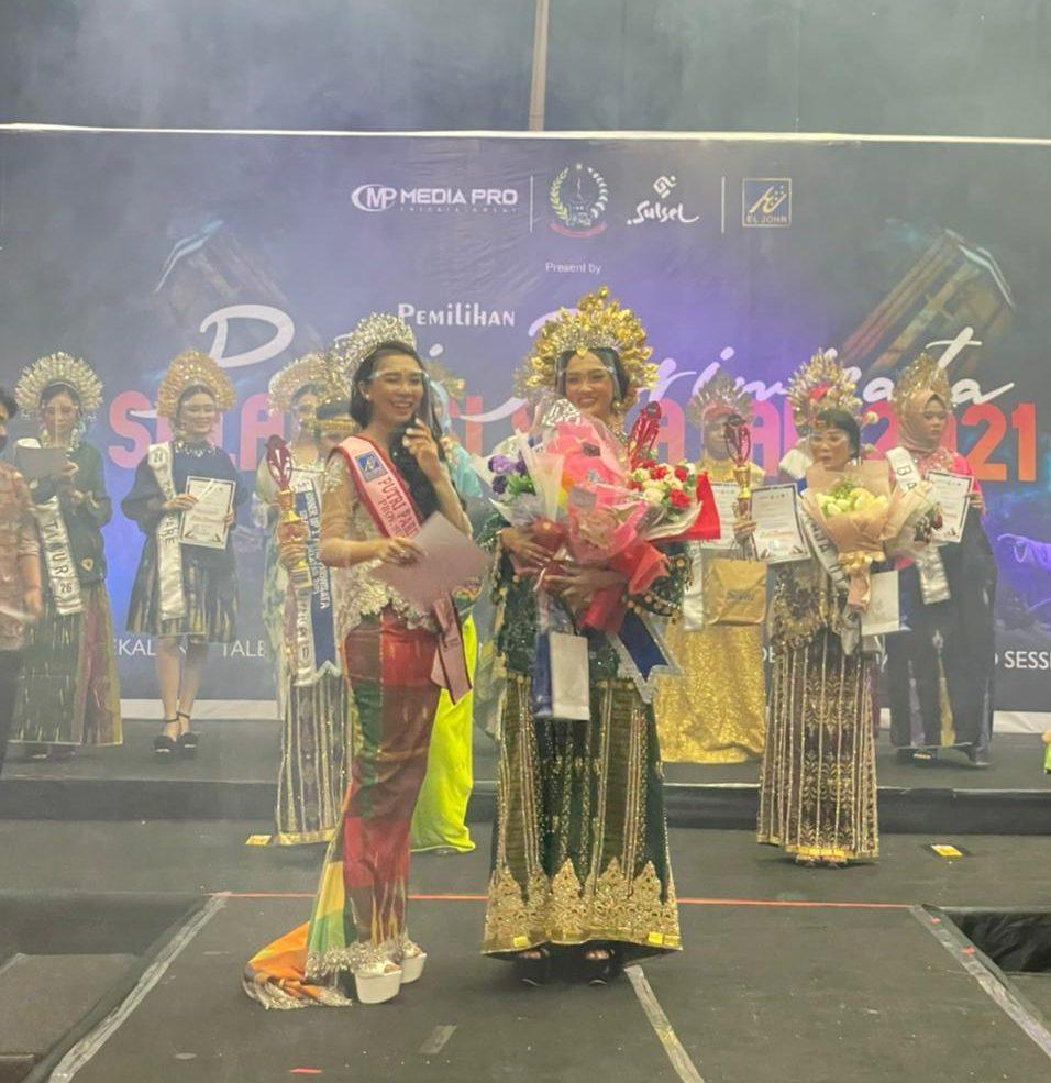 Mahasiswa IBK Nitro Sabet 3 Penghargaan di ajang Puteri Pariwisata Sulsel 2021, Selamat Untuk Ririn Wulandari